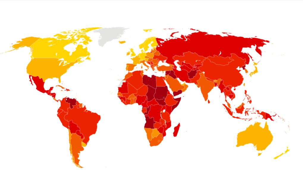 Mapa Corrupcion España 2017.Transparencia Internacional Espana Espana Mejora Levemente